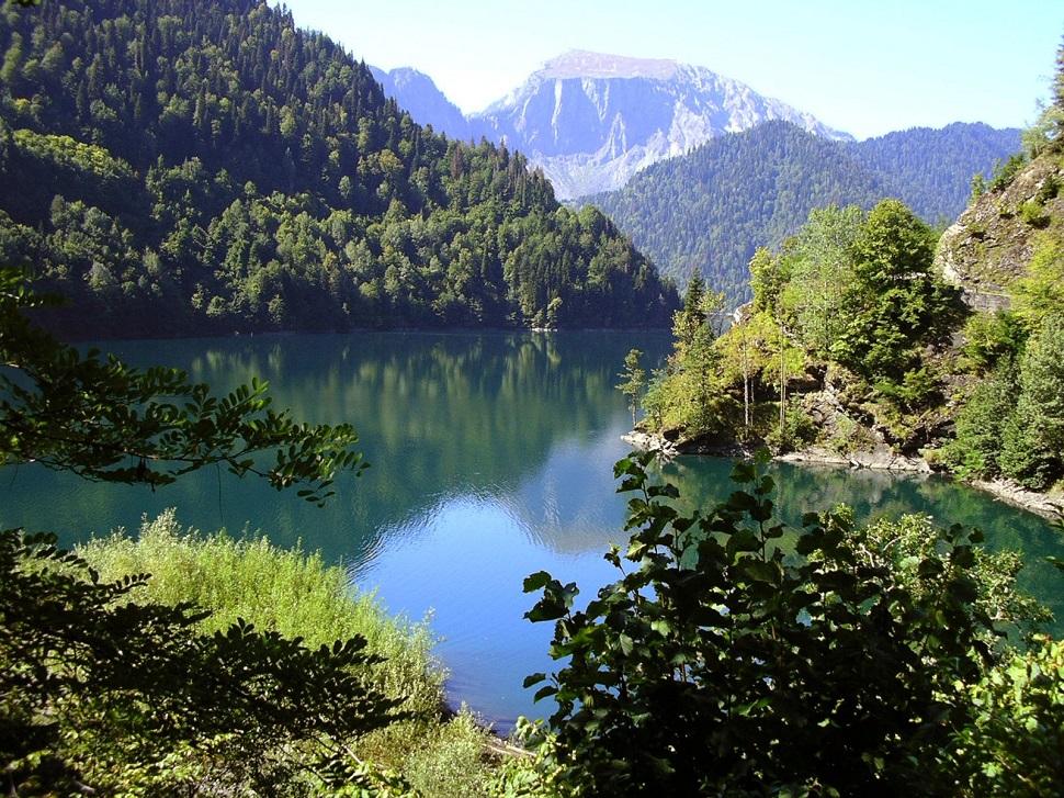 Абхазия озеро