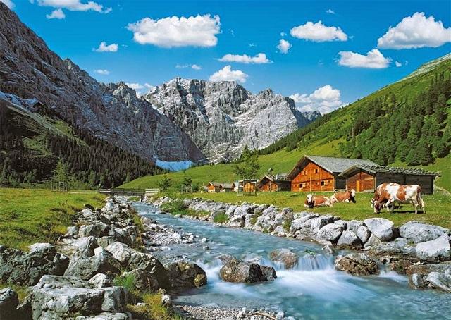 Австрийские Альпы туризм фото