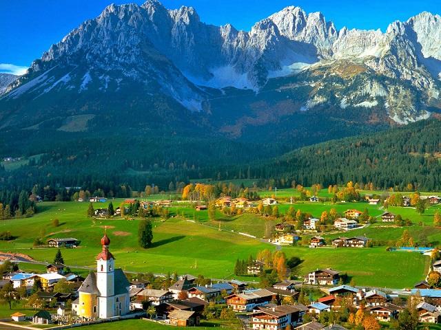 Австрийские Альпы отдых фото
