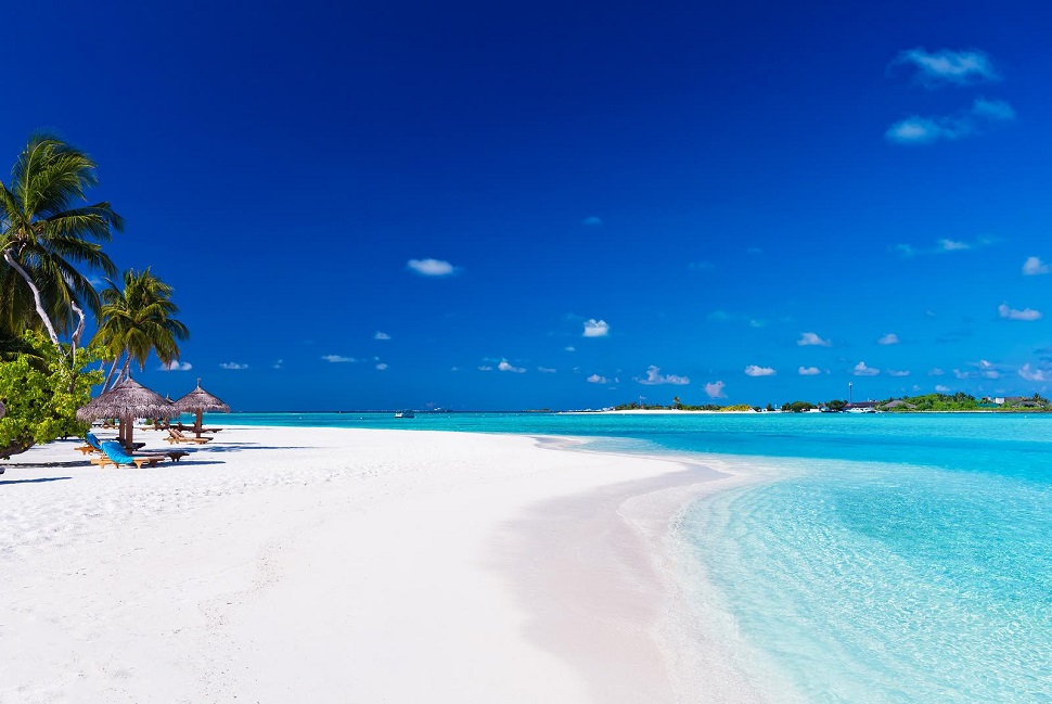 Атолл Ари пляж