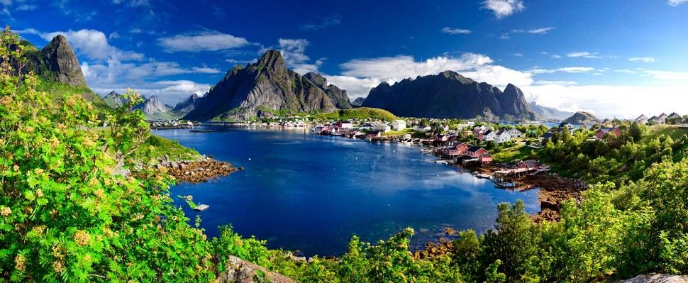 Норвегия панорама