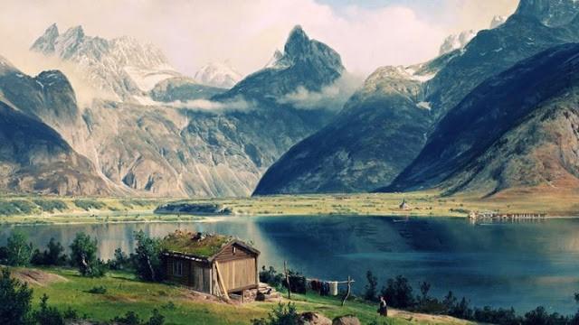 Скандинавия дом фото