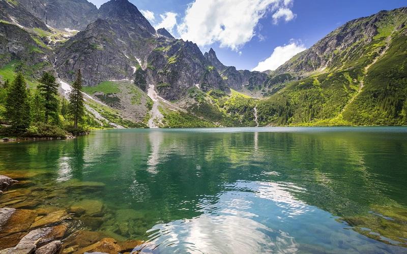 Татранский национальный парк - озеро