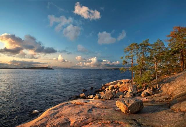 Финляндия море фото