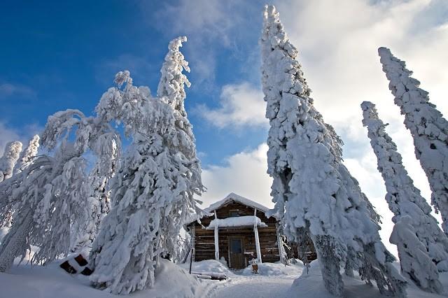 Финляндия снег фото