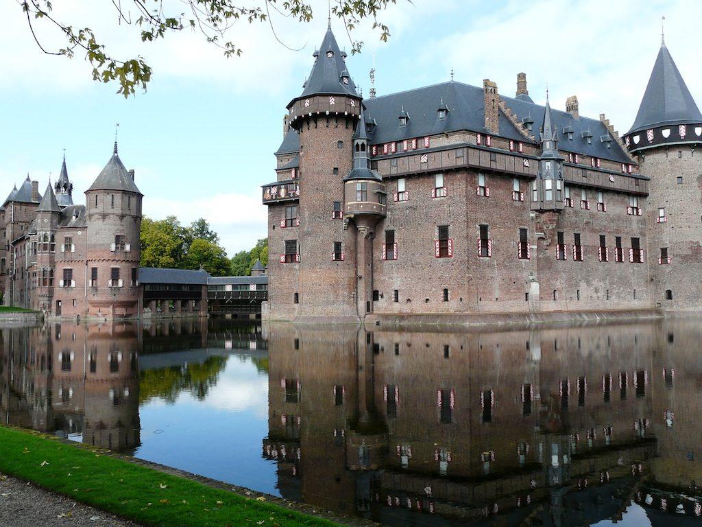 Обои нидерланды, замок, утрехт. Города foto 15